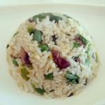 chahan (vegetable fried rice)